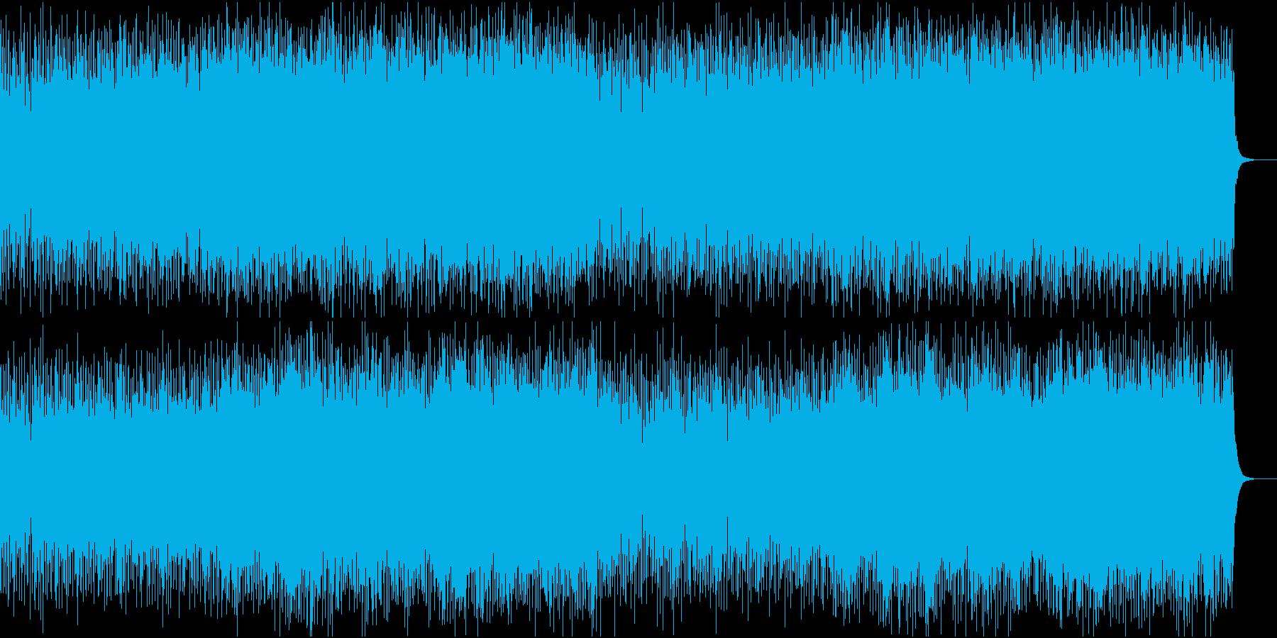 ユーロビート調のちょっと切ない曲です。の再生済みの波形