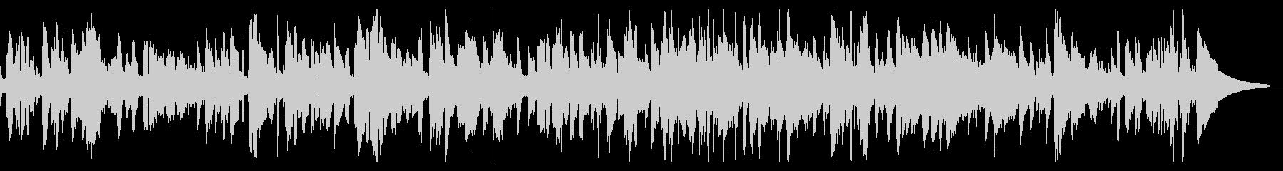 サックスメロディのスローバラードジャズの未再生の波形