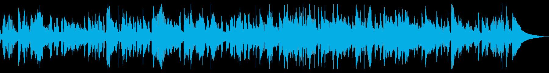 サックスメロディのスローバラードジャズの再生済みの波形