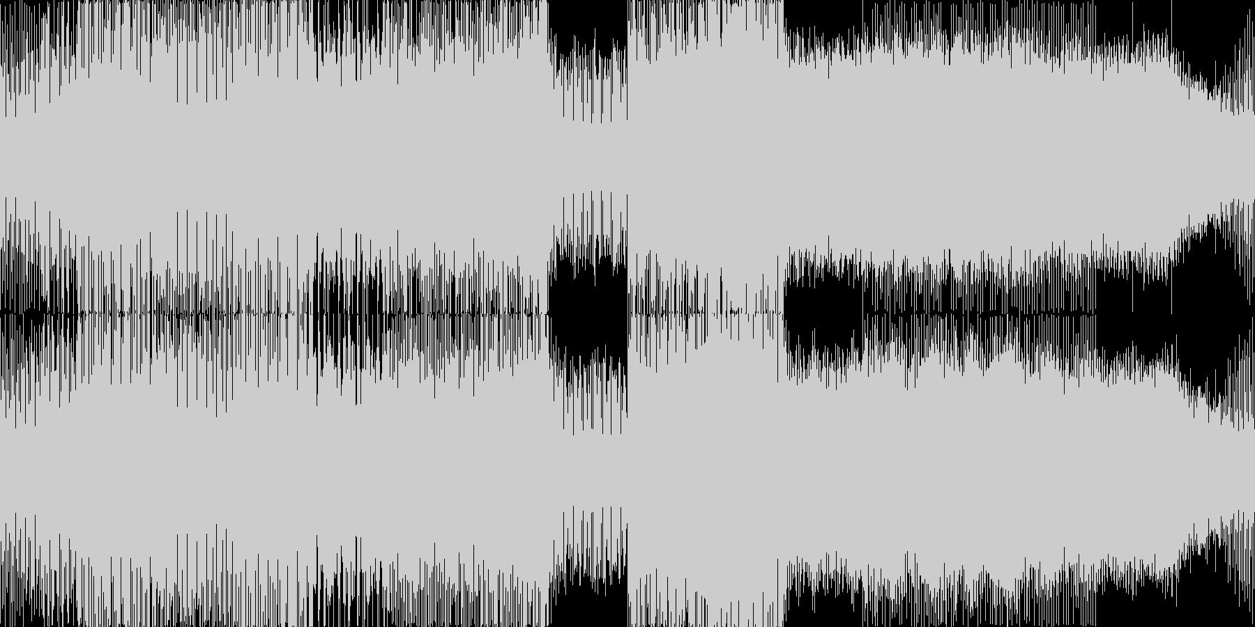 少し早めのエレクトロハウスです。いろい…の未再生の波形