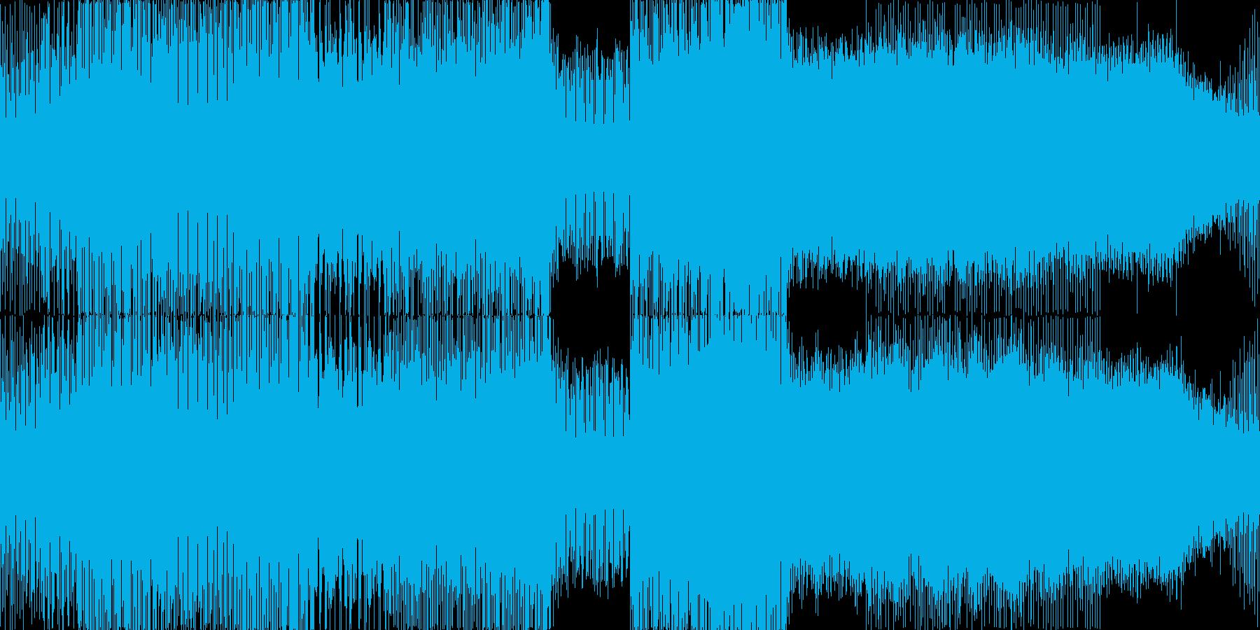 少し早めのエレクトロハウスです。いろい…の再生済みの波形