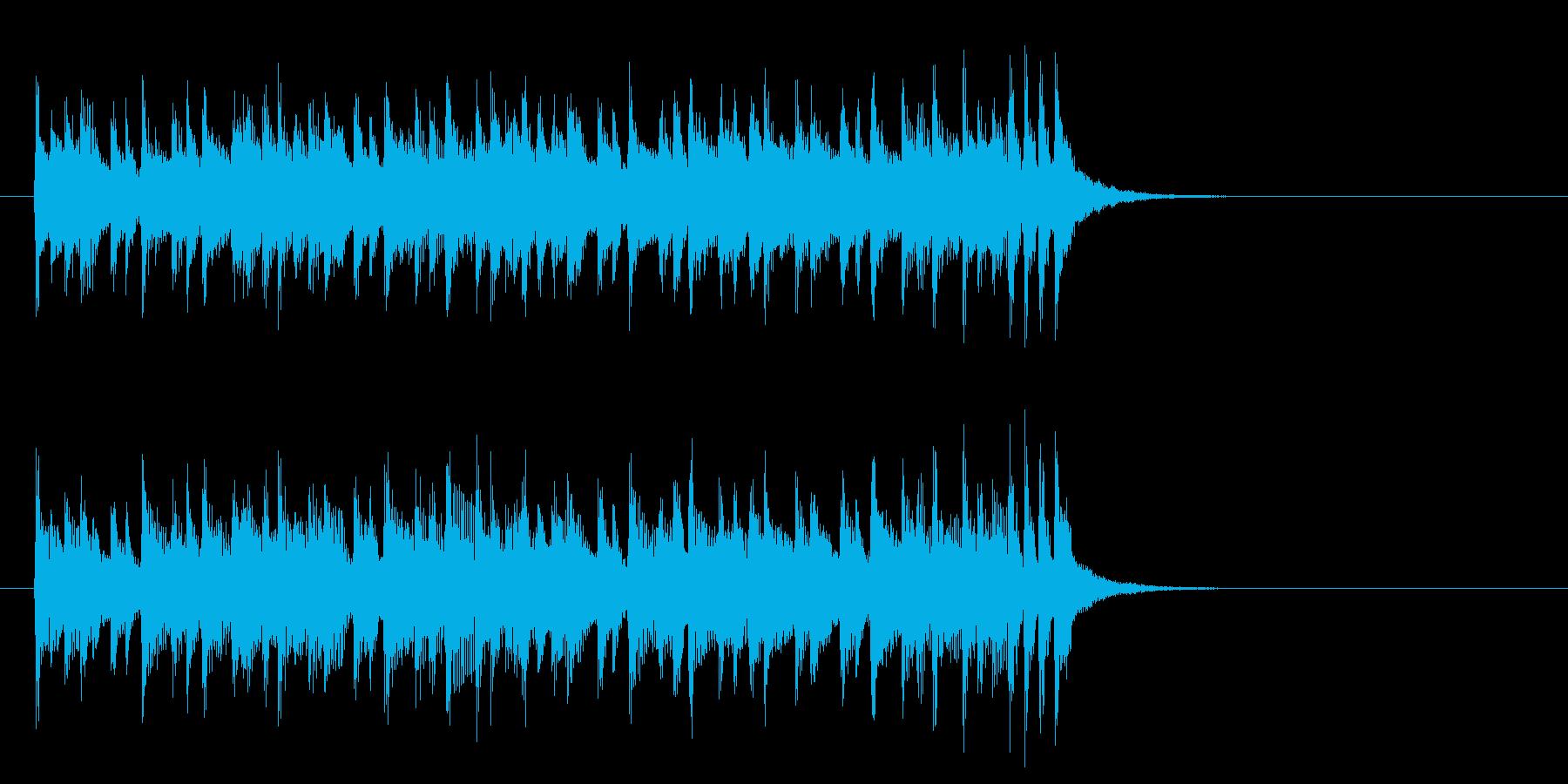 爽やかで軽やかなポップス(イントロ)の再生済みの波形