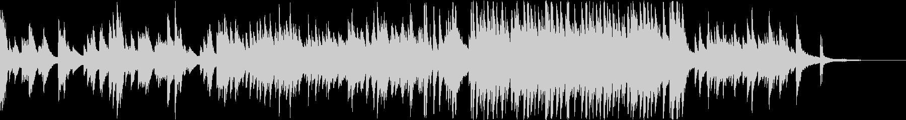 やさしいエンディング系ピアノソロの未再生の波形
