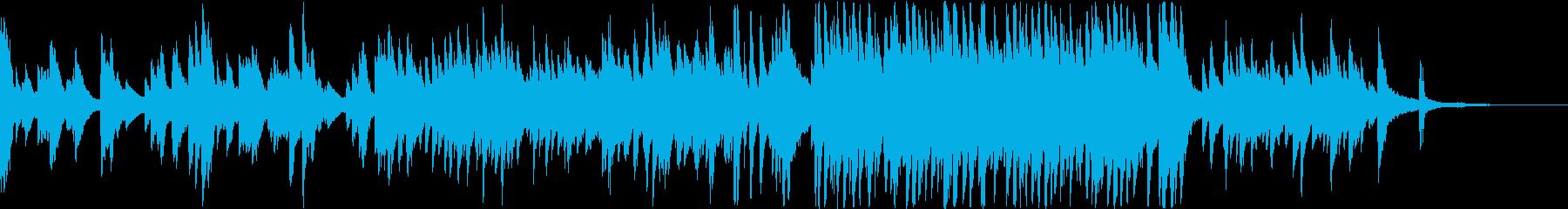 やさしいエンディング系ピアノソロの再生済みの波形