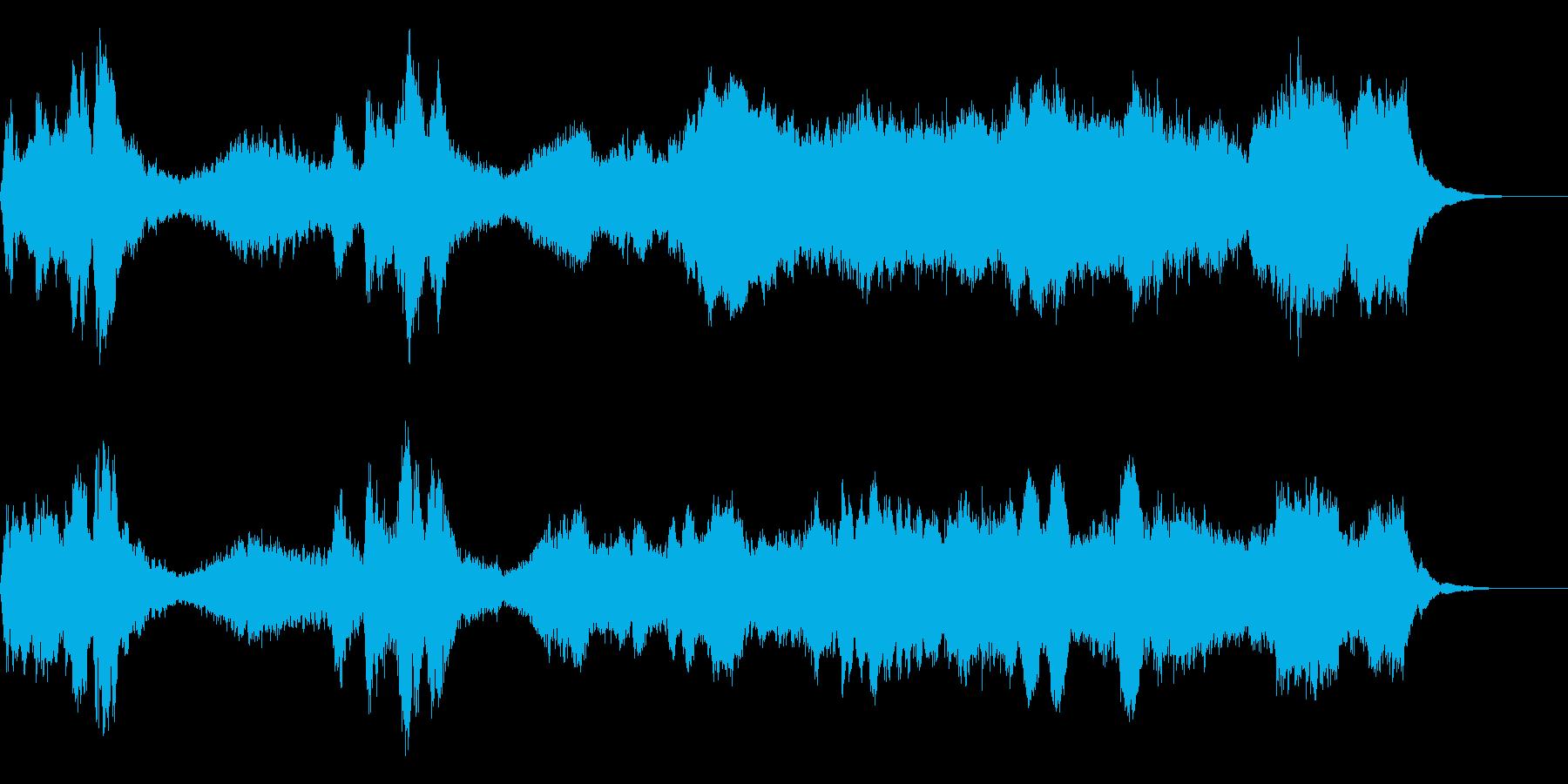 緊迫 ハリウッド系の再生済みの波形