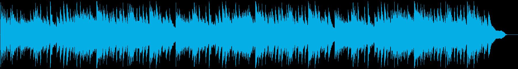 「ふるさと」 ピアノ伴奏の再生済みの波形