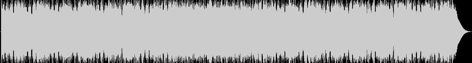 攻撃的な生のエレキギターダンスロックの未再生の波形