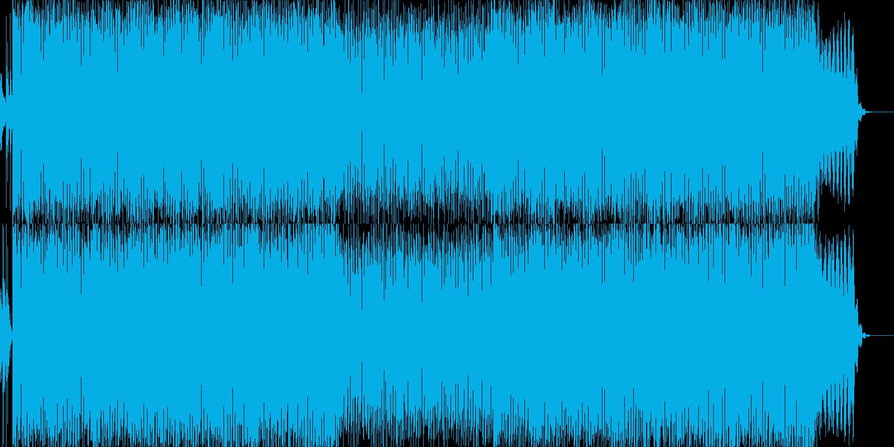 明るく賑やかなほのぼのシンセアンサンブルの再生済みの波形