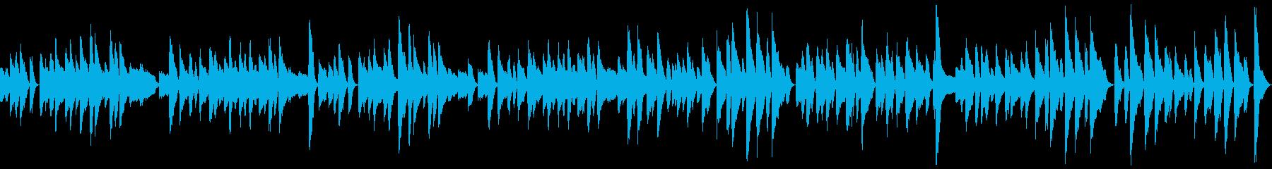 ループ ピアノソロのコミカルなラグタイムの再生済みの波形