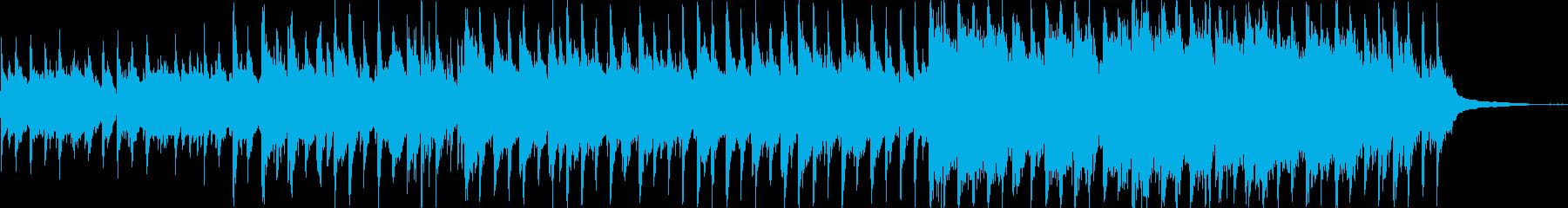爽やかな映像向けアコースティックポップの再生済みの波形