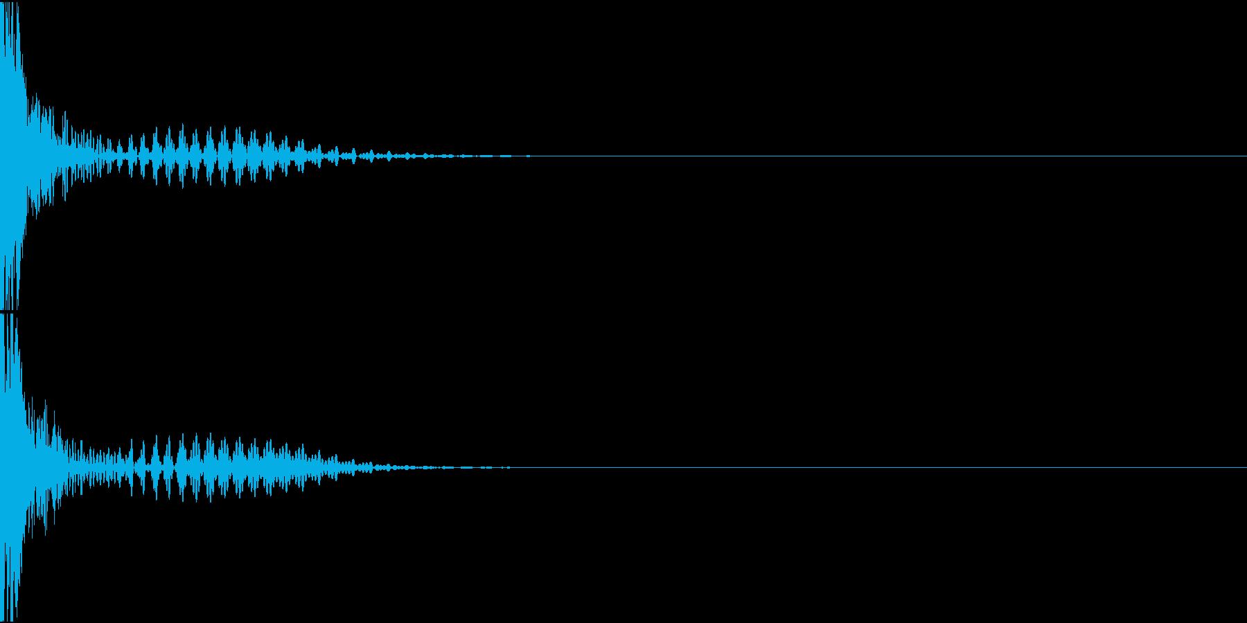Rifle レーザーライフル ショット音の再生済みの波形