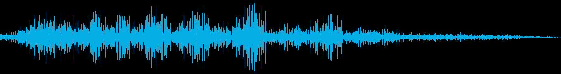 メニュー画面音(ウインドウ開閉など)04の再生済みの波形