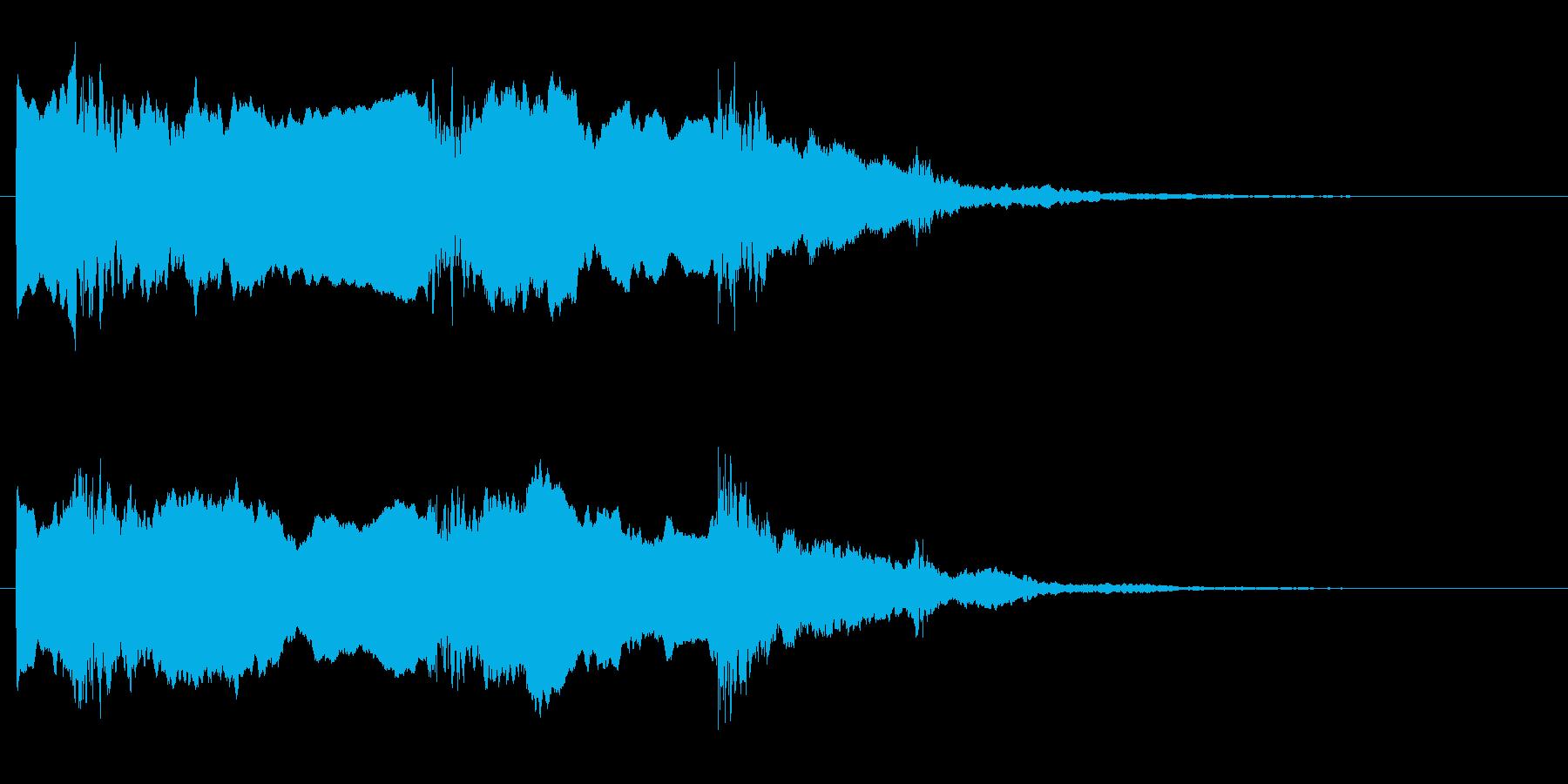 ほら貝 合戦音  の再生済みの波形