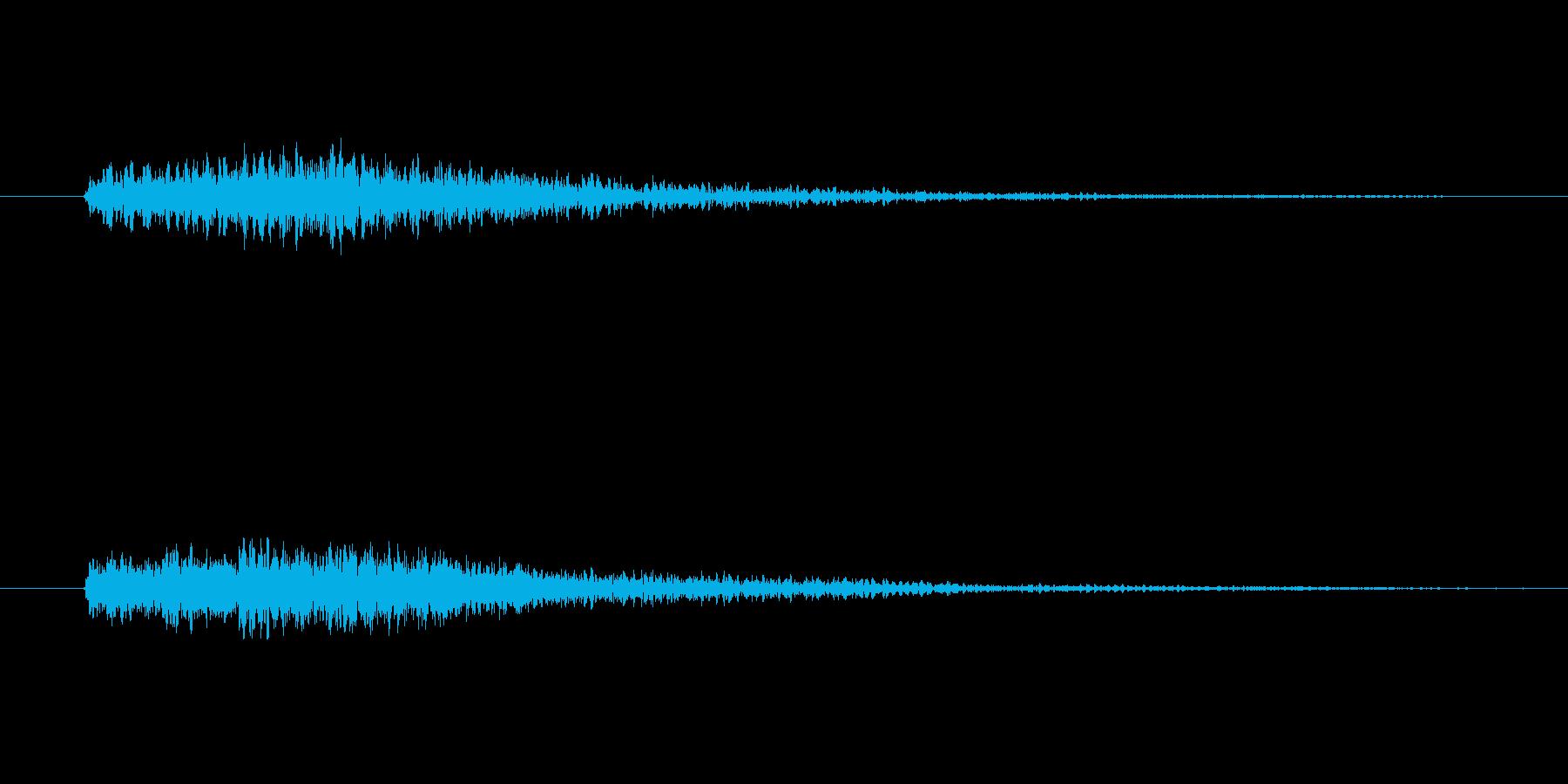 ドドドーン!(重大発表とかで聴く音)の再生済みの波形