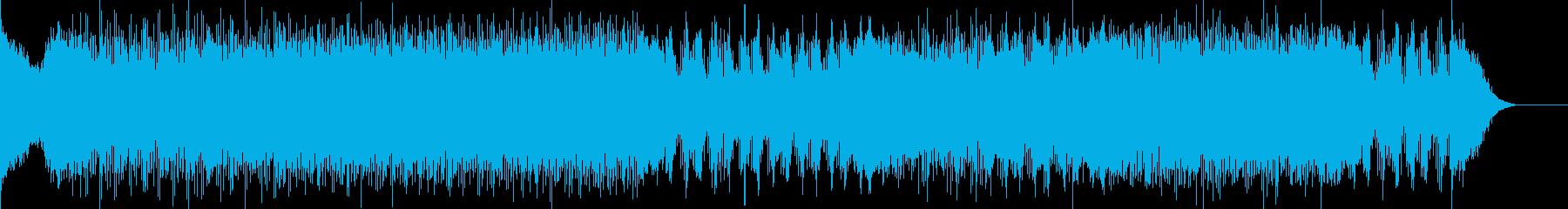 映画音楽、チェイス、スピード感-02の再生済みの波形