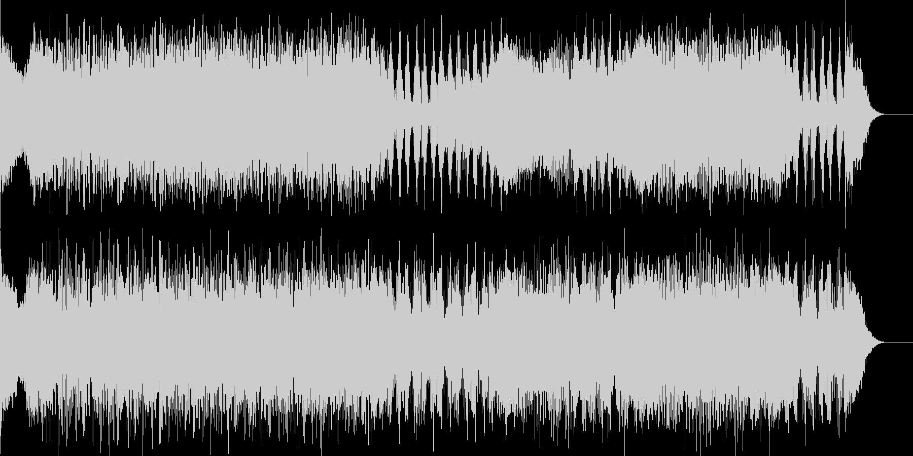 映画音楽、チェイス、スピード感-02の未再生の波形