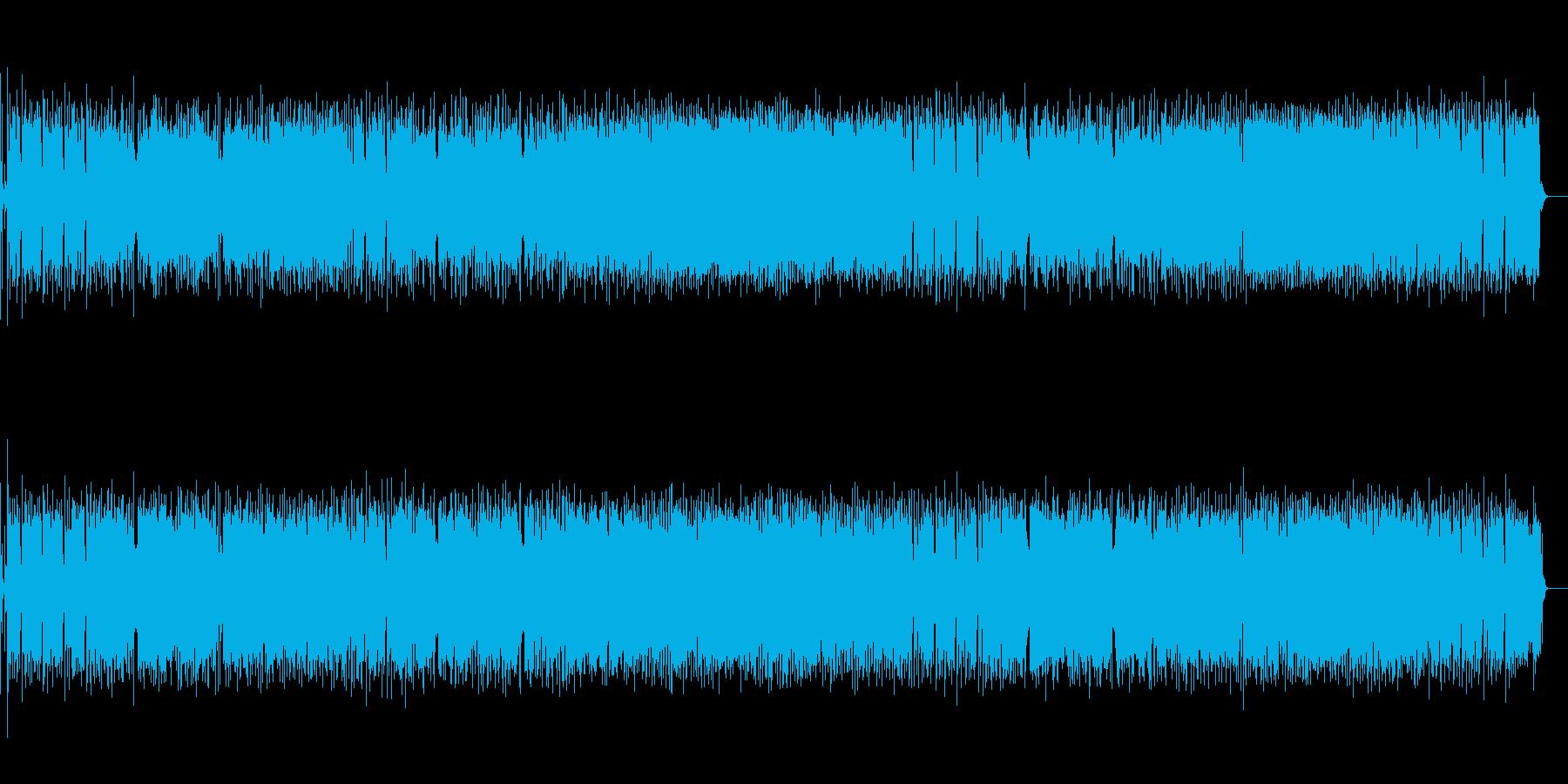 横浜をイメージしたポップスロックの再生済みの波形