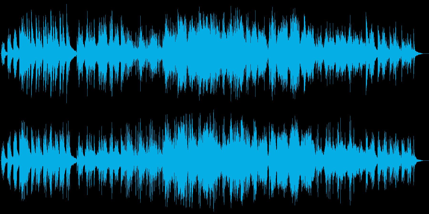 幻想的なピアノが感動を呼ぶバラードの再生済みの波形