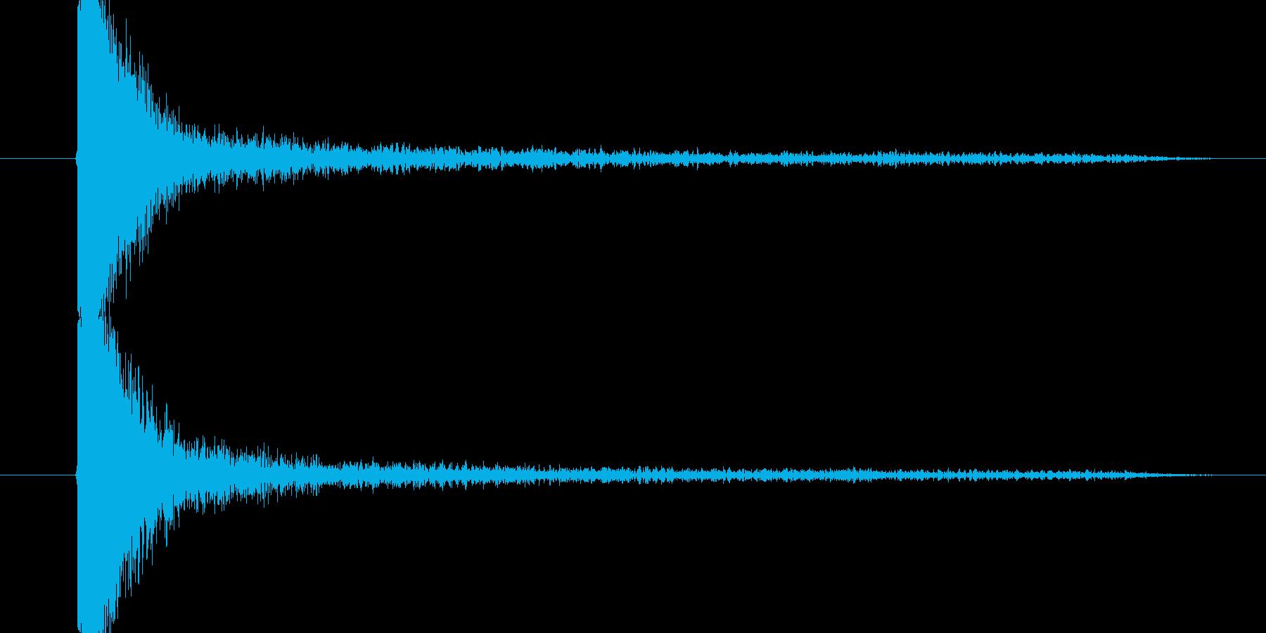 ドンとビックリの再生済みの波形