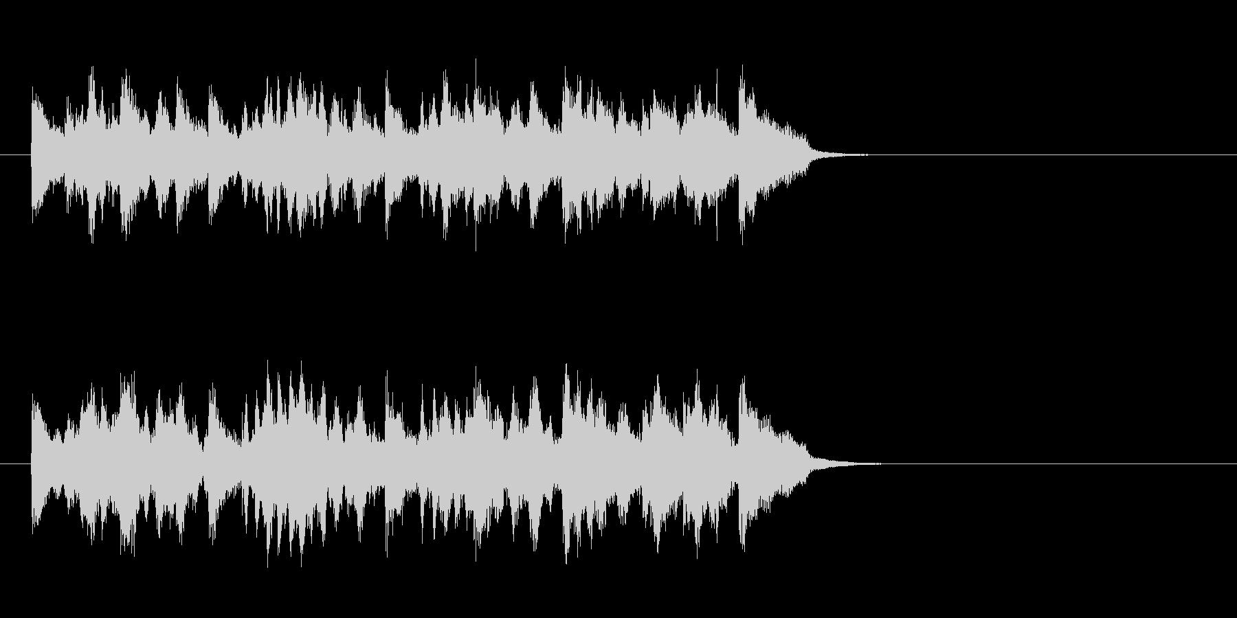 ムーディーなポップス(サビ)の未再生の波形