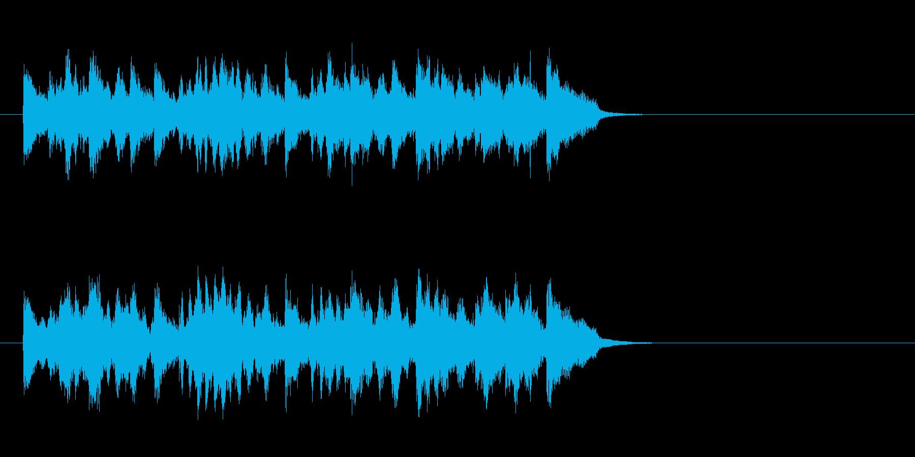 ムーディーなポップス(サビ)の再生済みの波形