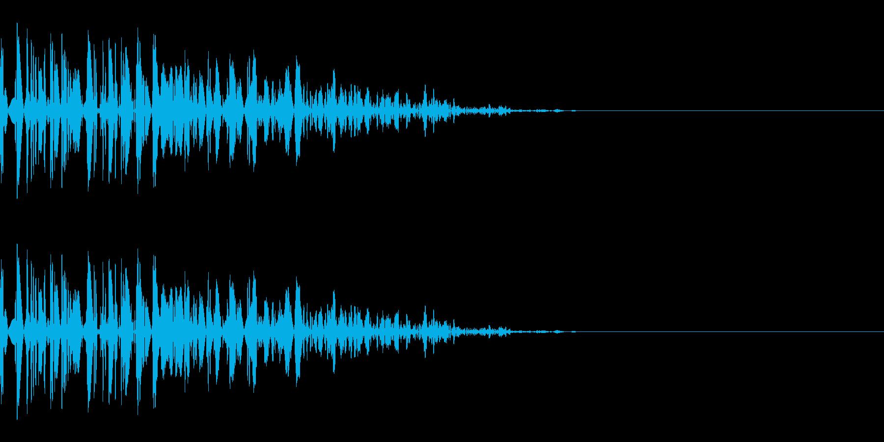 ドン(防御/ガード/格闘)の再生済みの波形