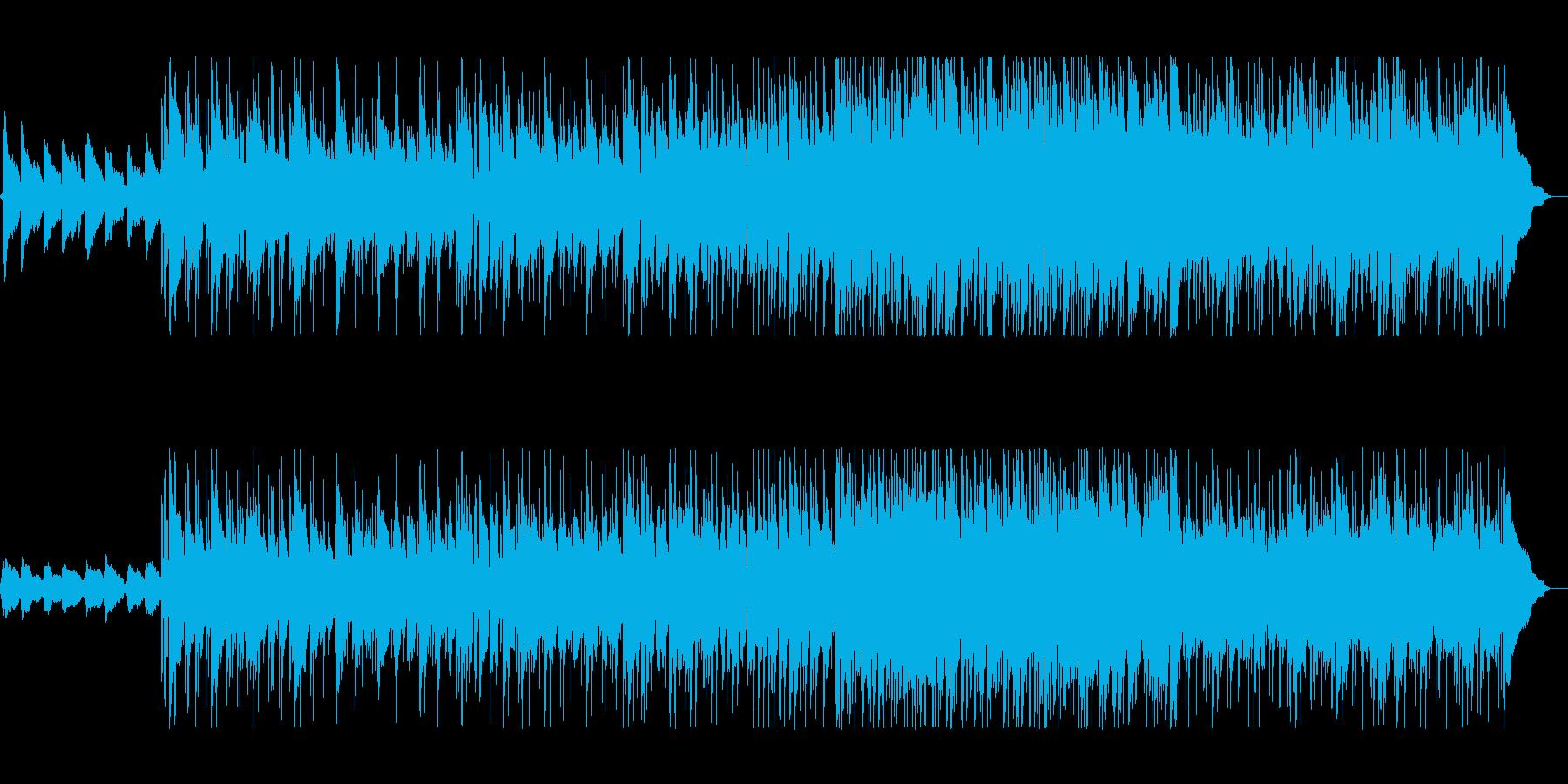 緩やかで軽やかなアコギポップサウンドの再生済みの波形