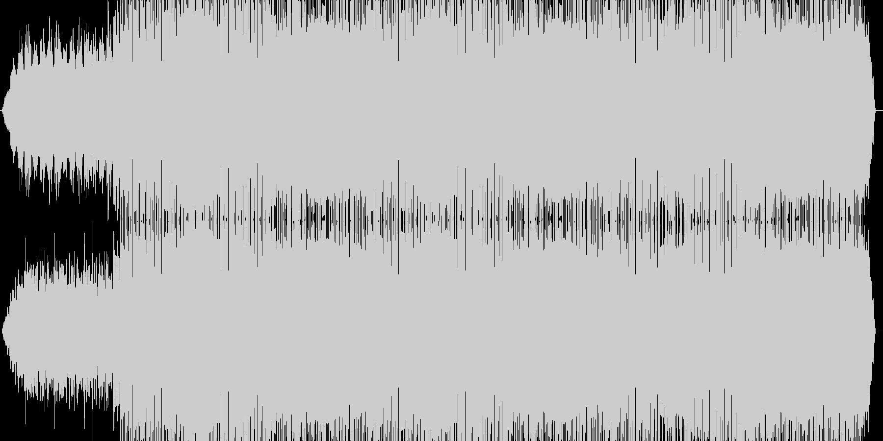 この曲『@.mp3』、これと言って個…の未再生の波形