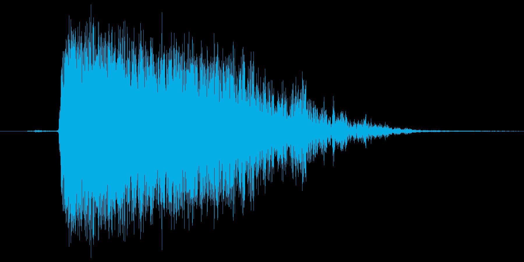 ガーウー!の再生済みの波形