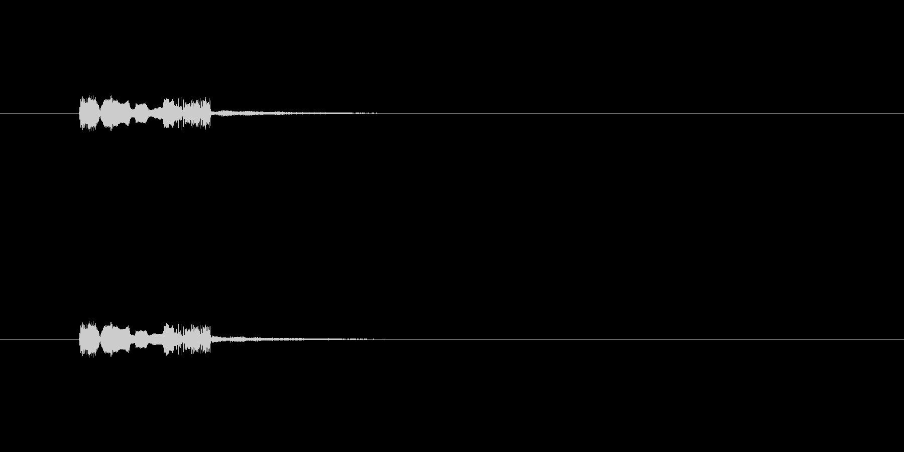 【サイバー15-1】の未再生の波形