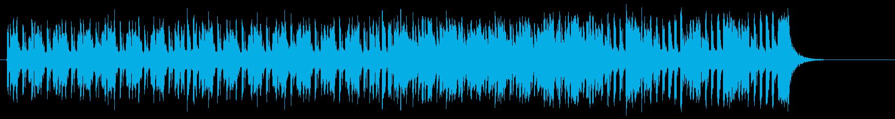 軽いカウベルがノリ良いソフトポップロックの再生済みの波形