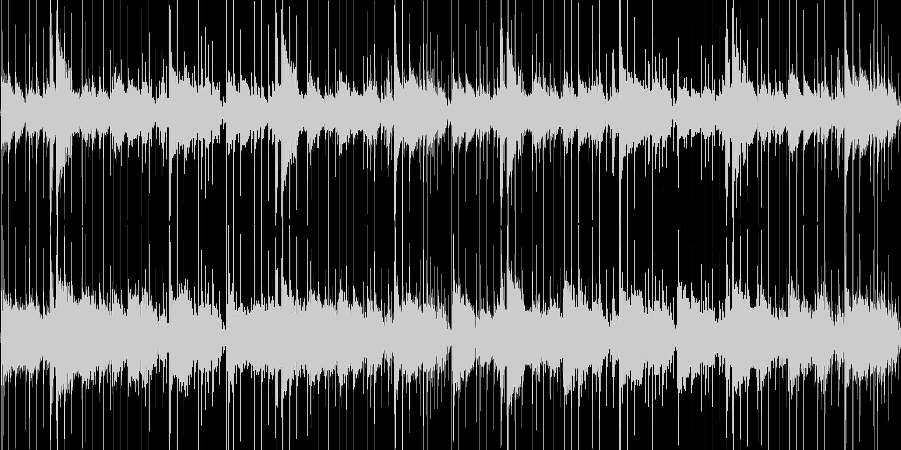 シンプルなEギターのLOOPですの未再生の波形
