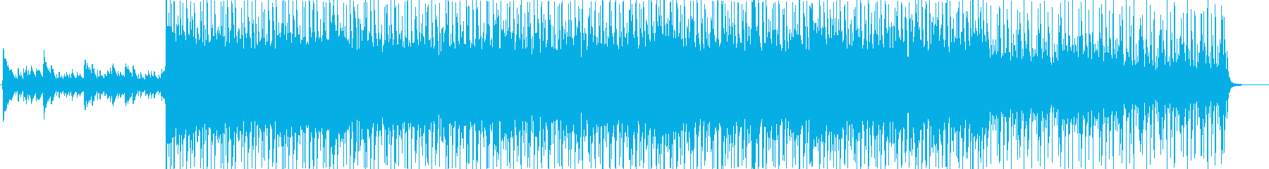 物語のエンディング向けピアノインストの再生済みの波形
