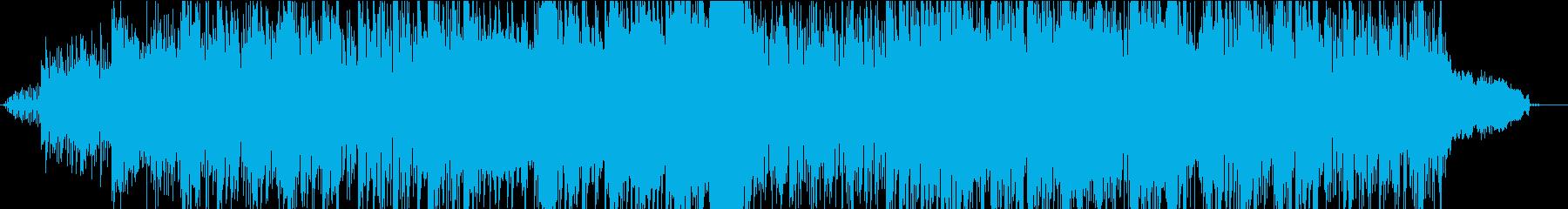 ヘリコプターでワイルドに登場する曲の再生済みの波形