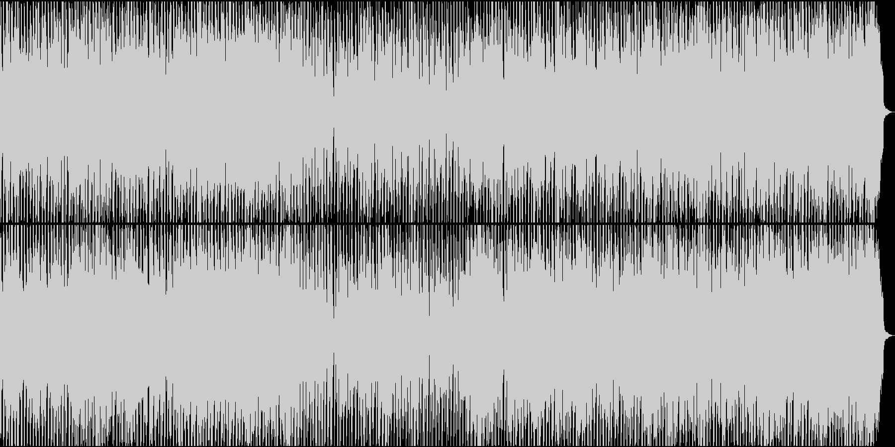 バイオリンとピアノの軽快なポップスの未再生の波形
