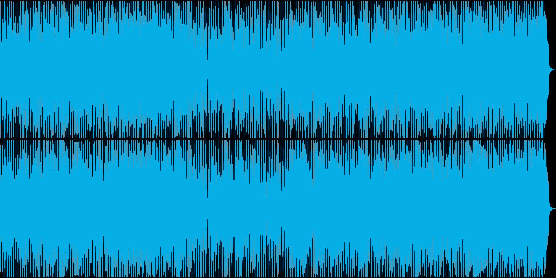 バイオリンとピアノの軽快なポップスの再生済みの波形