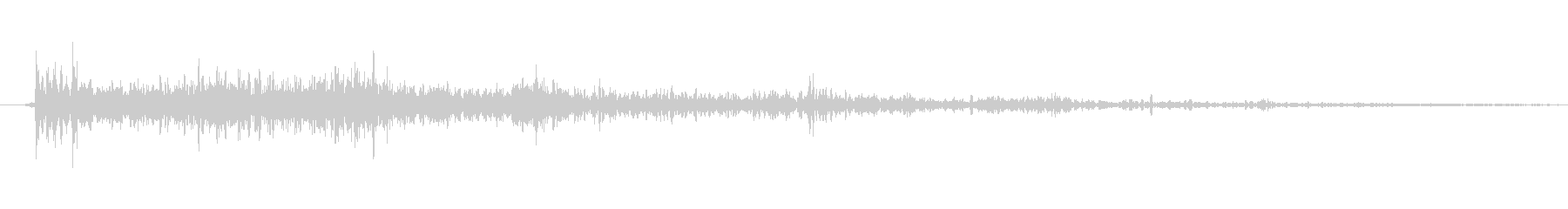 銃の音 (5)の未再生の波形