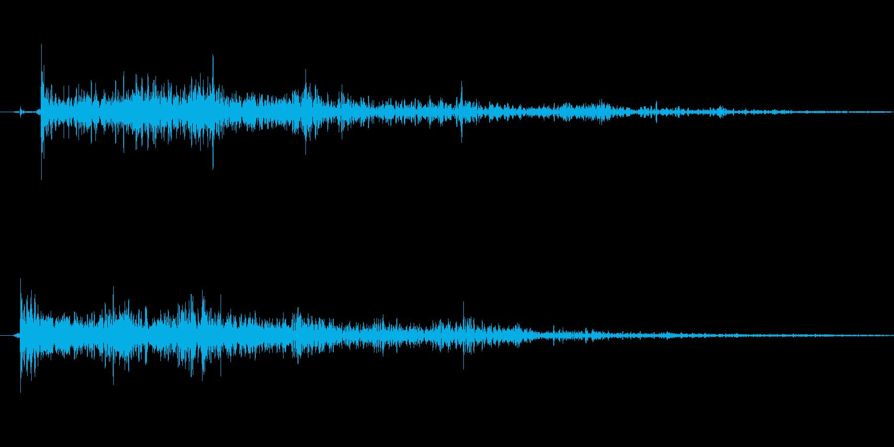 銃の音 (5)の再生済みの波形