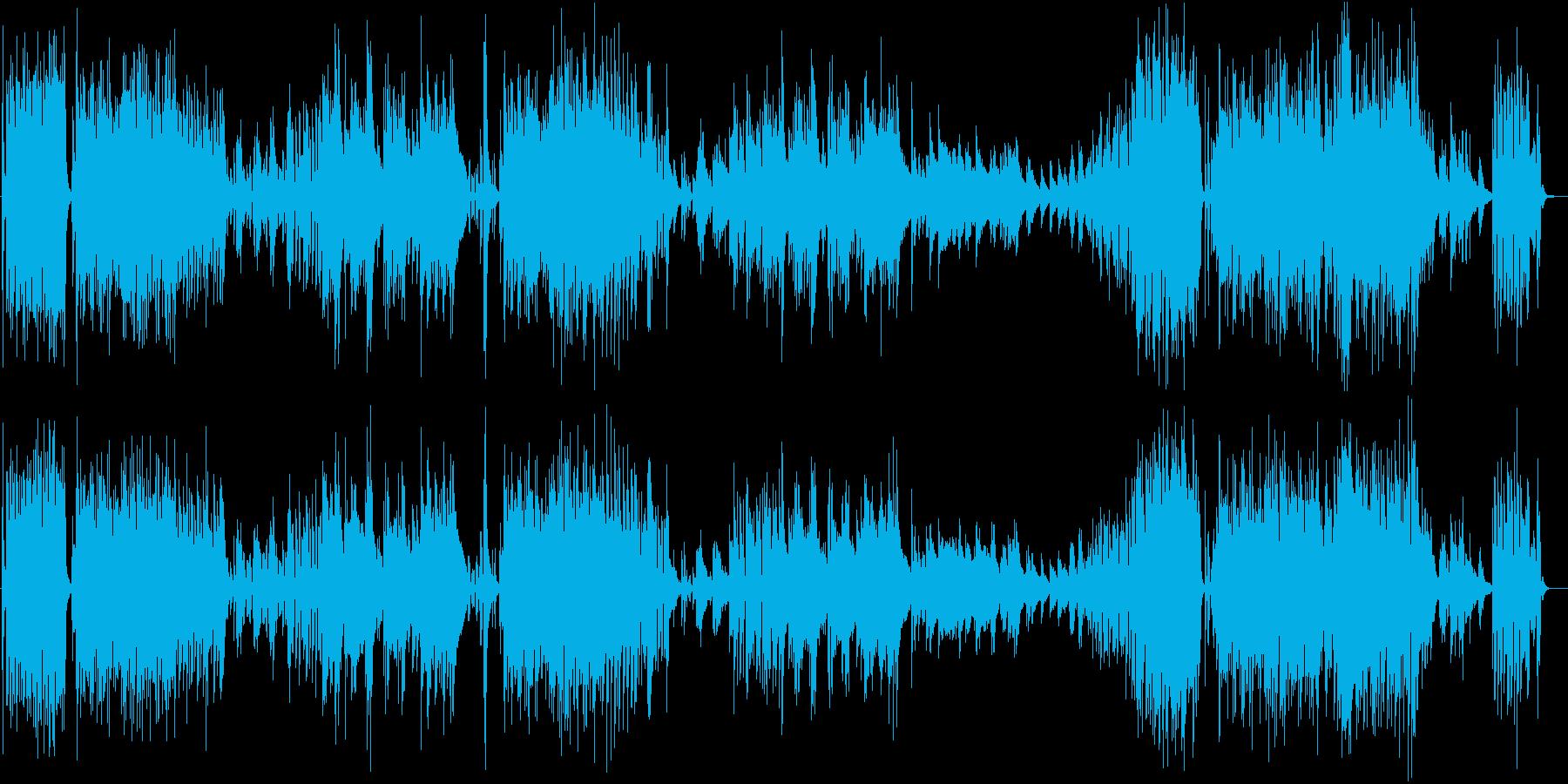 夜のニュース番組のOP風オシャレJazzの再生済みの波形