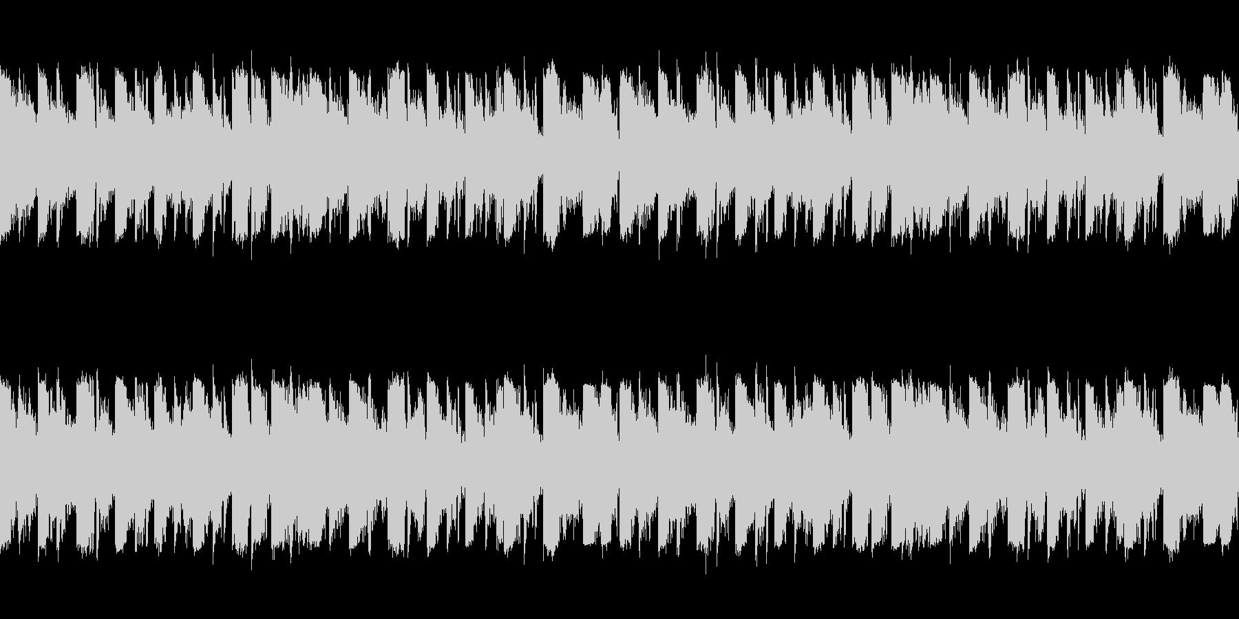 「クセのないデジタルダンスLoop曲」の未再生の波形