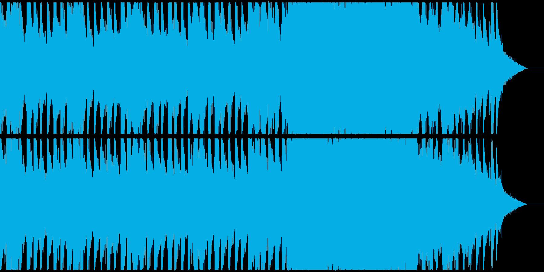 神秘的な雰囲気のあるアンビエントの再生済みの波形