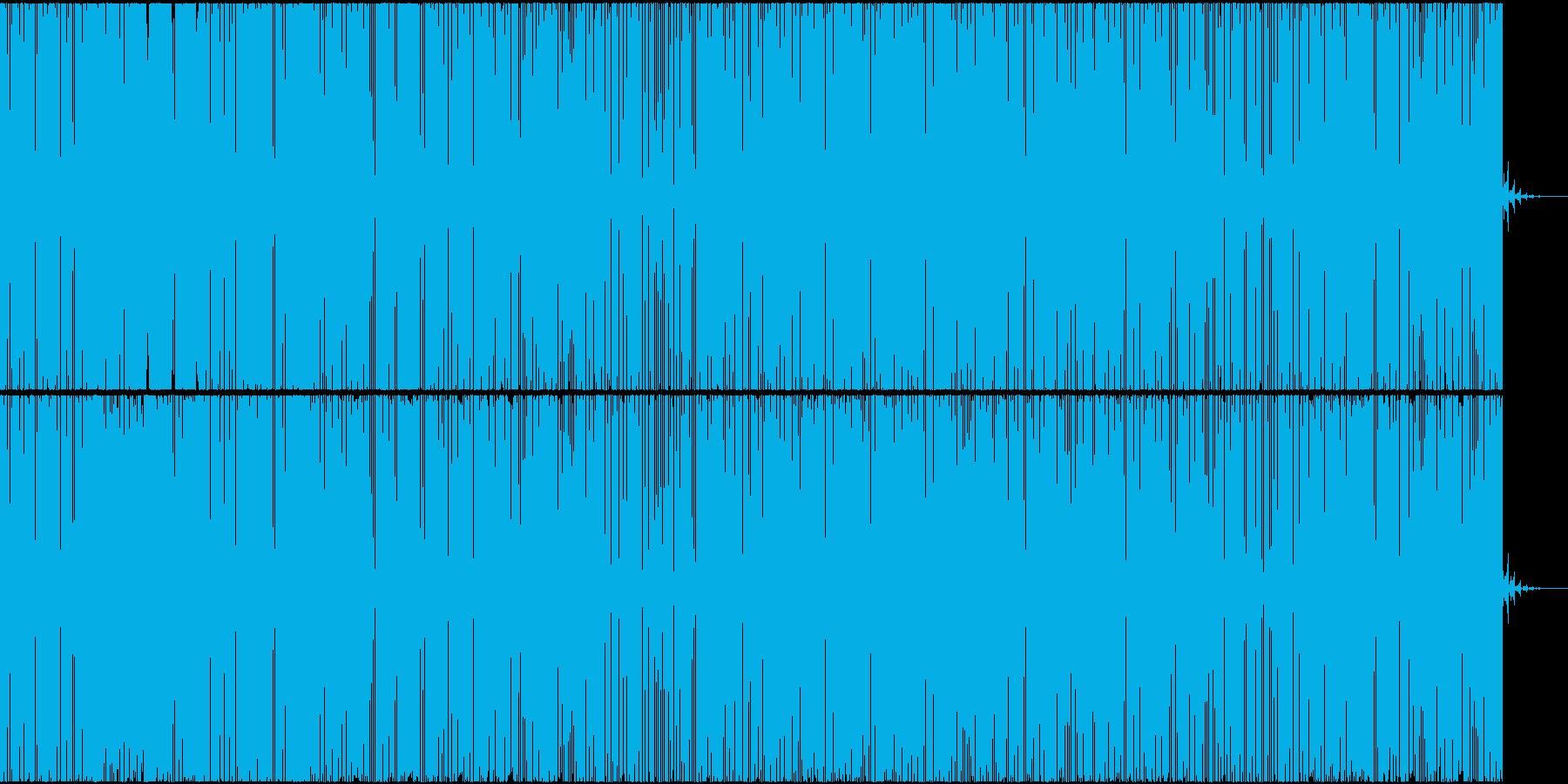 アメリカ西海岸のイメージの再生済みの波形