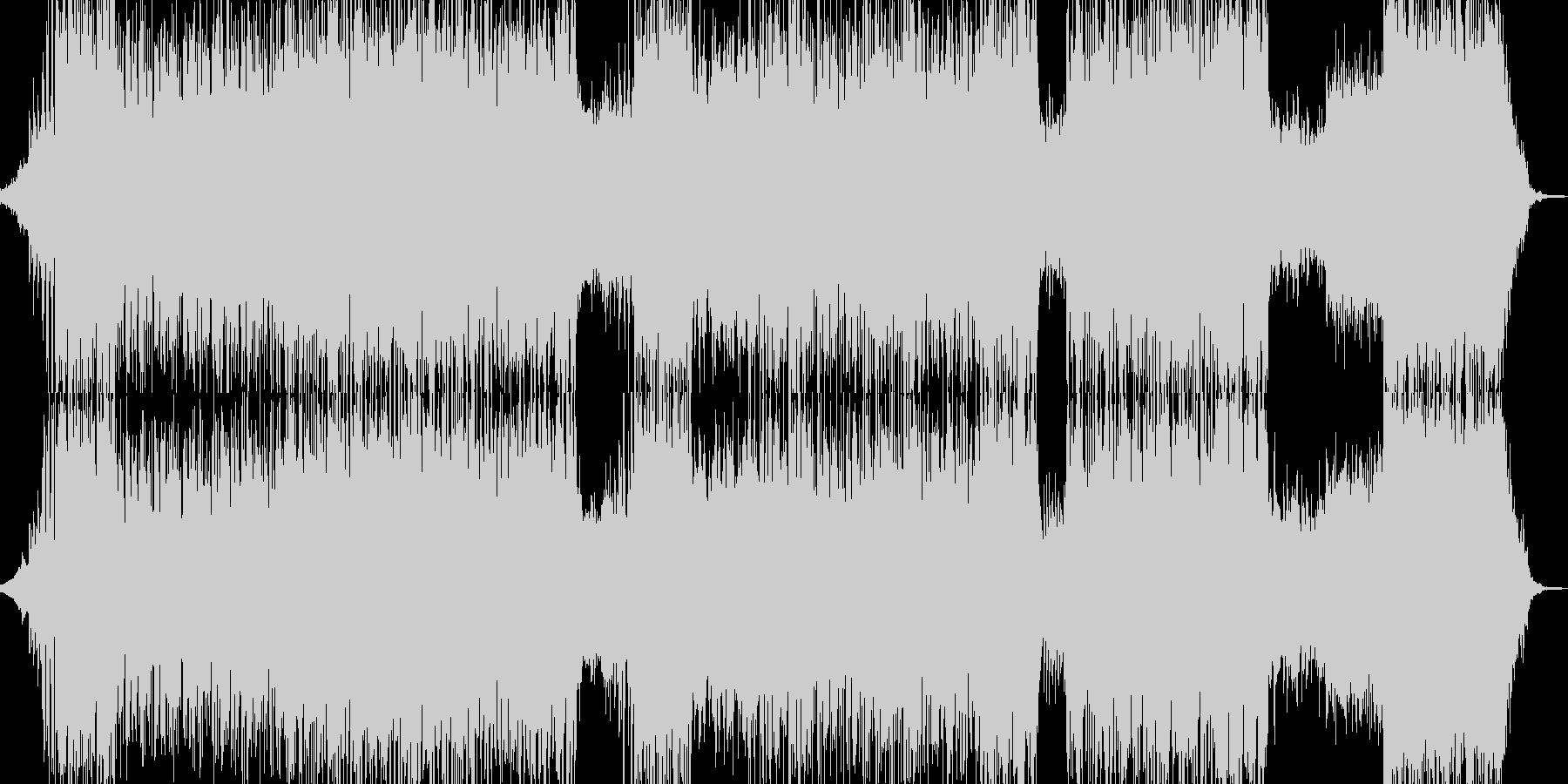 神秘的でサワサワとしたドラムンベースの未再生の波形
