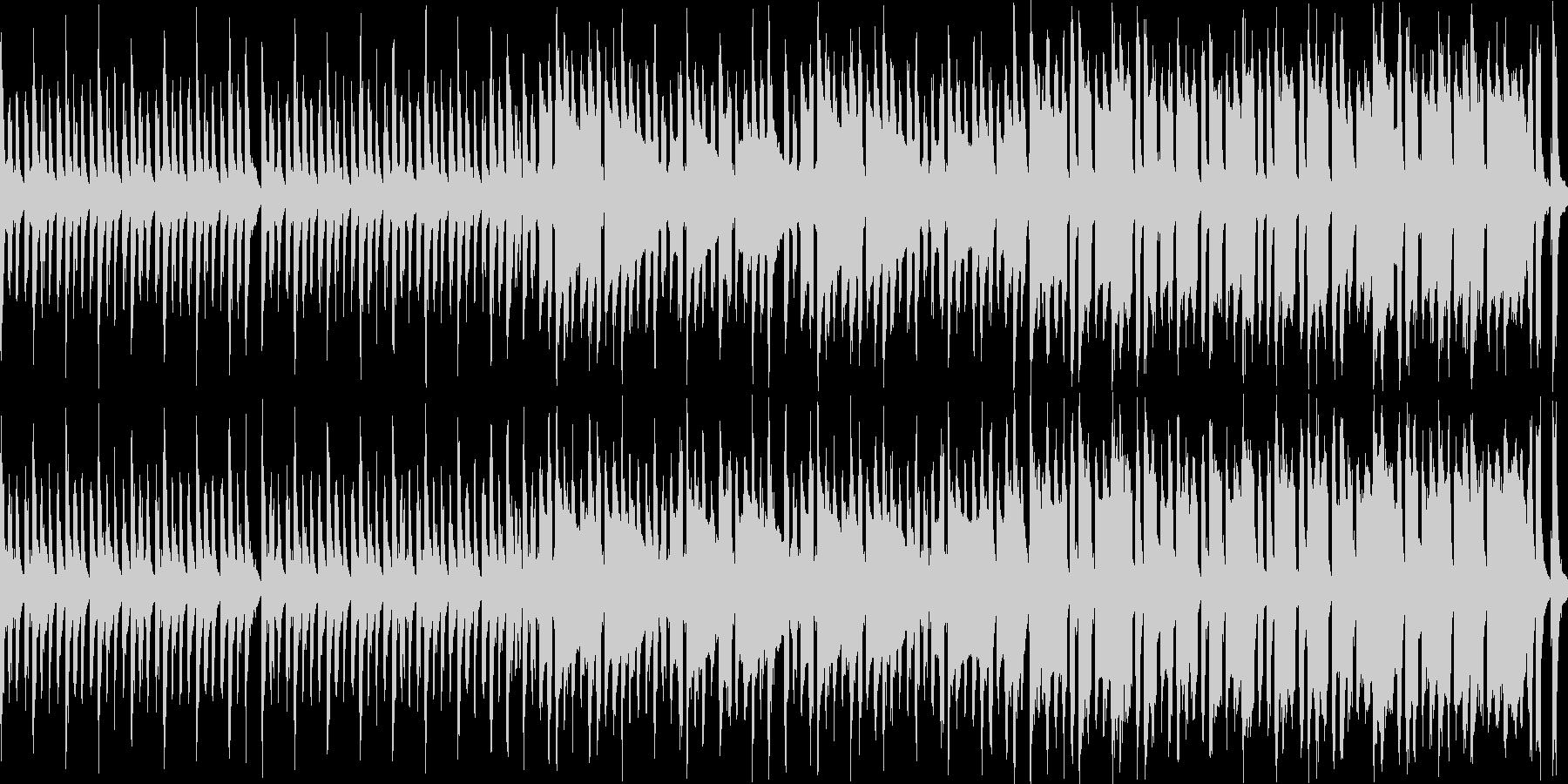 【ループ】ピチカートとトランペットの可愛の未再生の波形