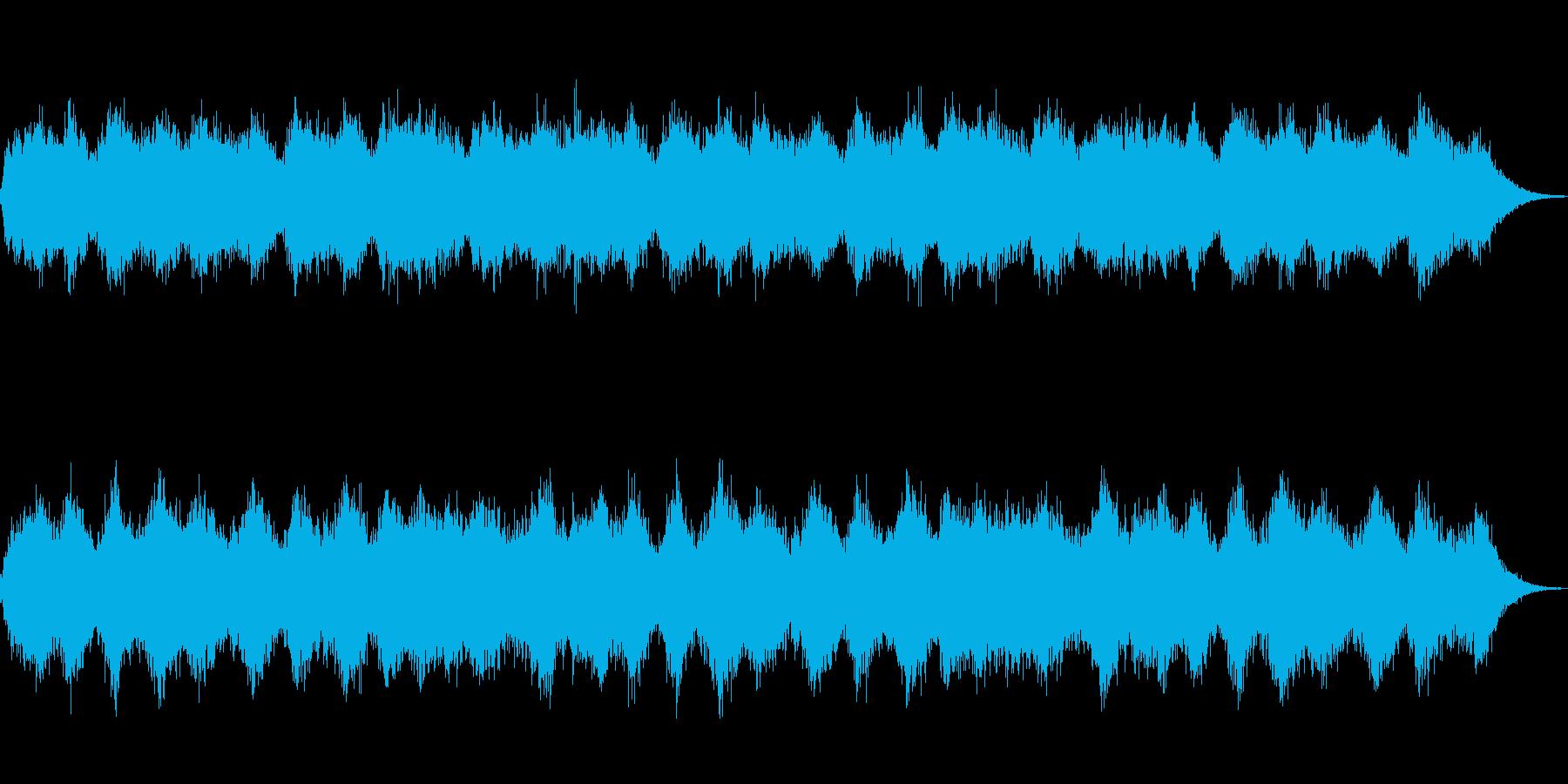 ダークアンビエントの再生済みの波形