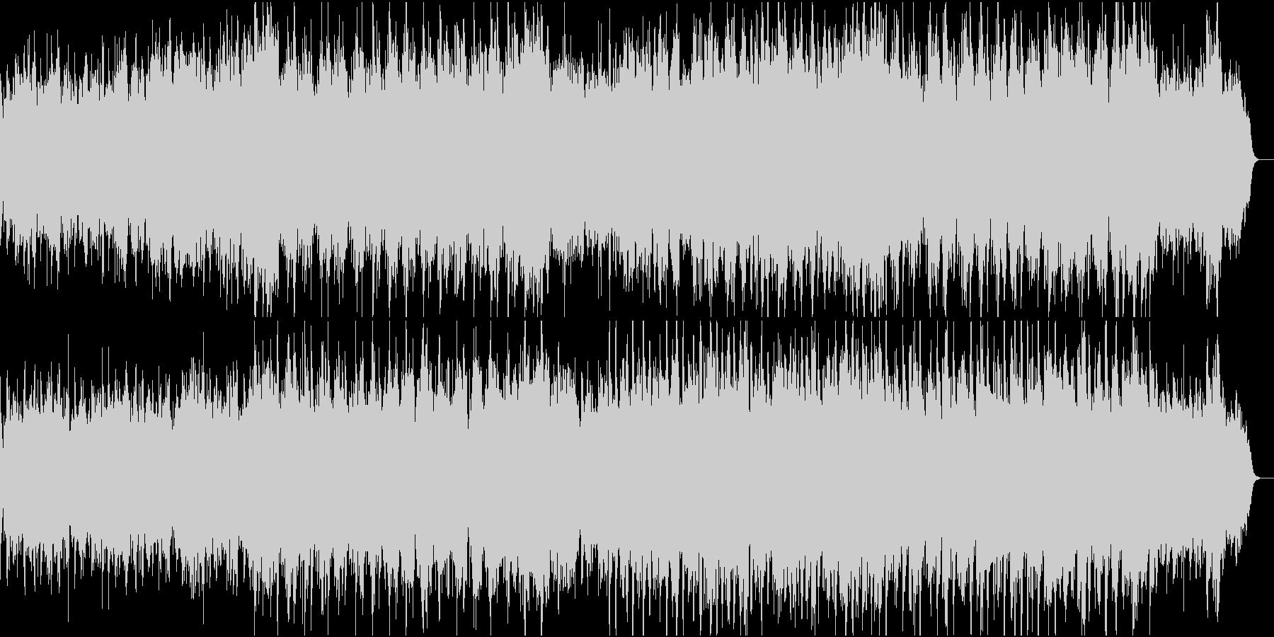 温かく切ない感動ピアノ管弦楽2ドラム無しの未再生の波形