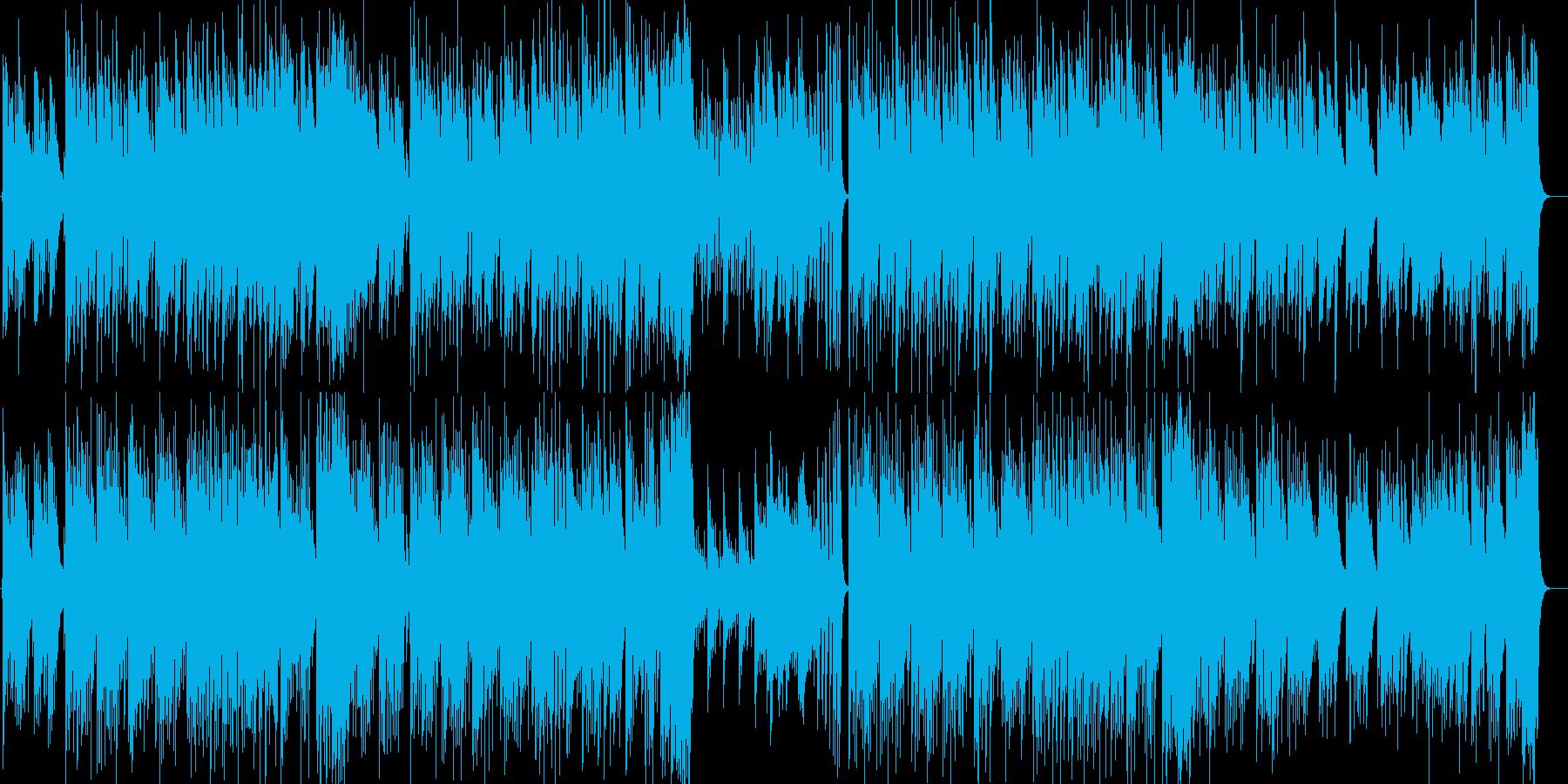 切ない 和な感じの再生済みの波形