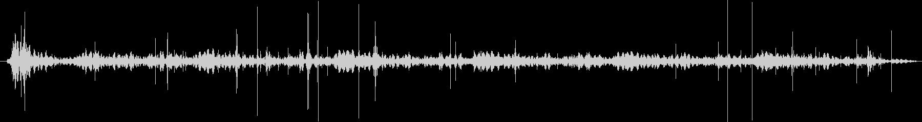 レコードノイズ(チリチリ)の未再生の波形