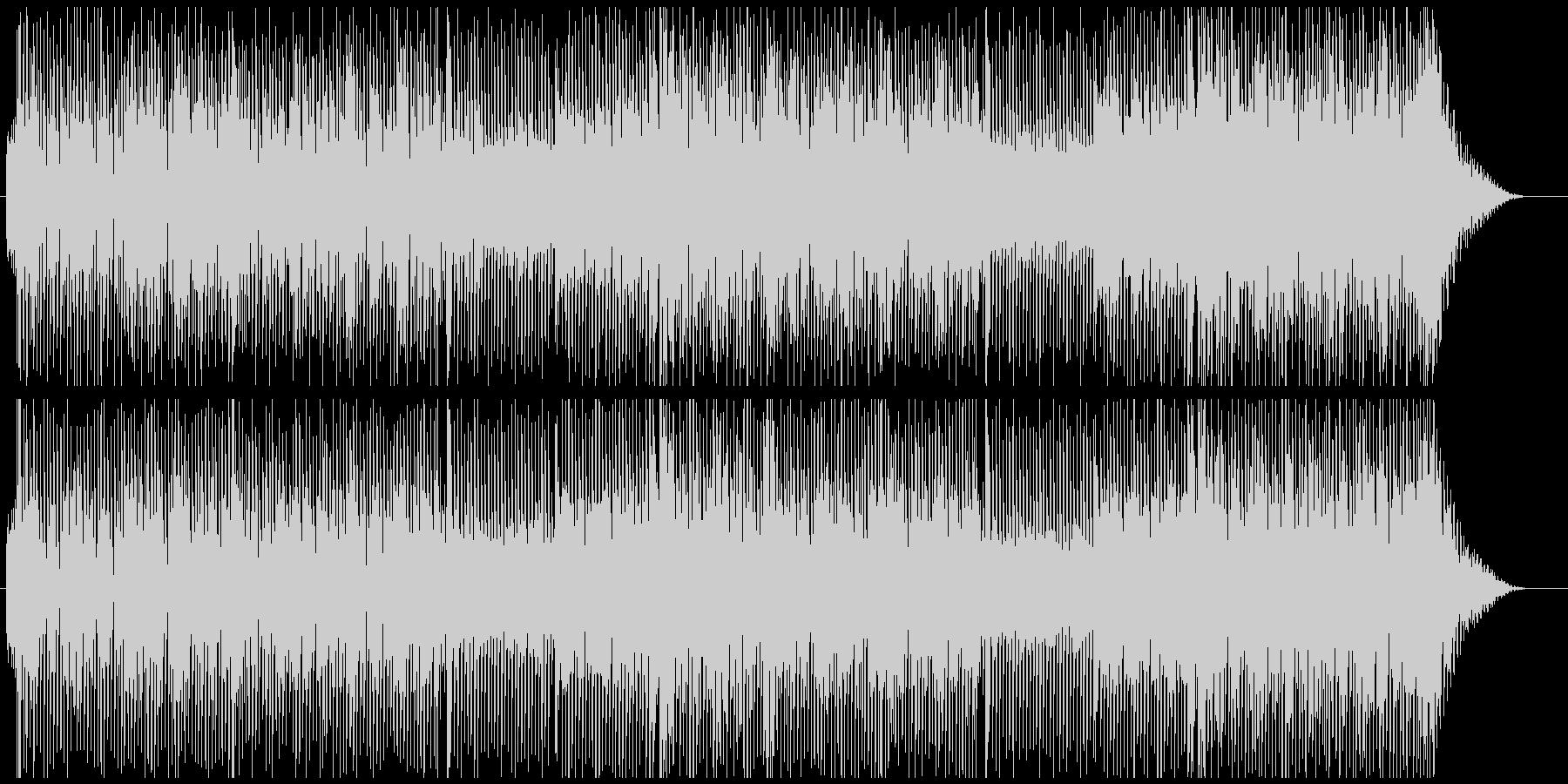 80sポップエレクトロの未再生の波形