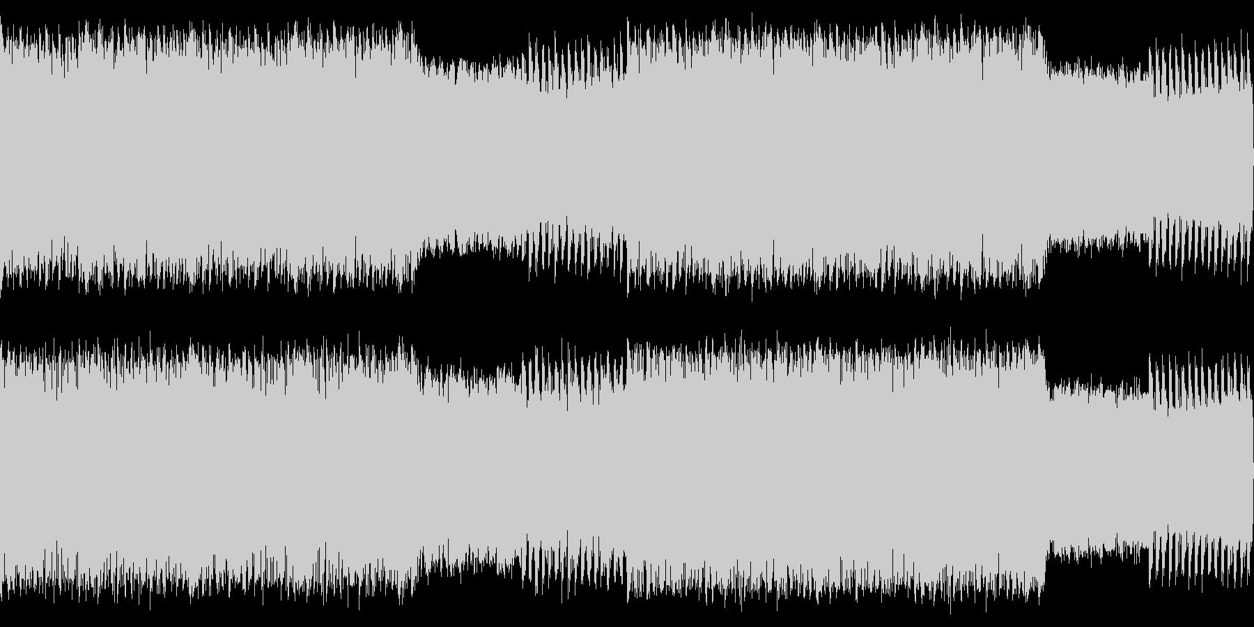 牧歌的なカントリー風ハウスループの未再生の波形